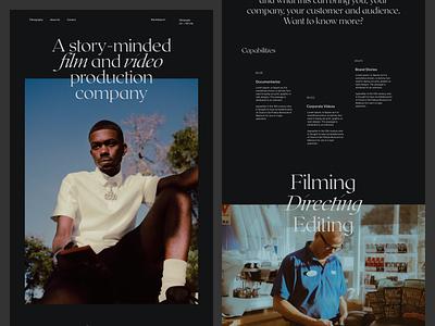 Worthitdocs - About Page 03 interface production creative uiux blog webdesign website black portfolio about editorial ui web