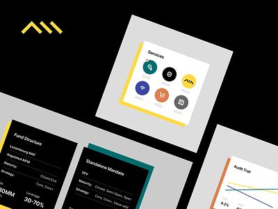 ImmoCapital - Product Visuals platform illustration flat corporate design minimal interface ui web