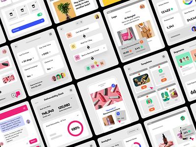 Sendlane - Product Shots Part 3 marketing email saas platform design interface ui web