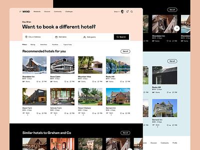 WKND - Summaries ux platform travel saas app saas interface ui web