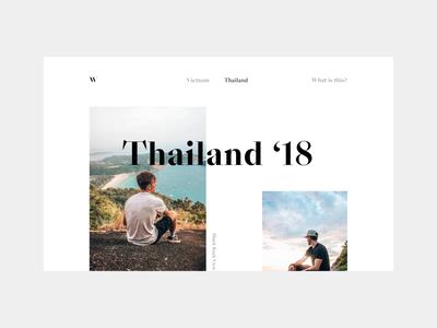 Simple Photo Blog