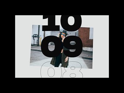 Countdown design ui minimal interface web