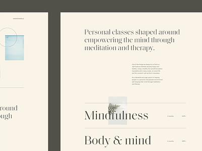 Exploration blog design ux editorial minimal ui interface web