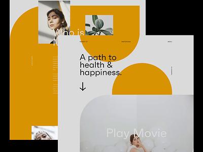 Second Iteration blog design ux minimal ui interface web