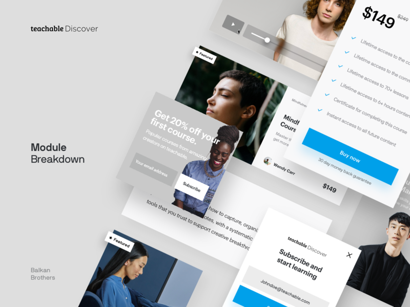 Modules Designs Themes Templates And Downloadable Graphic Elements On Dribbble
