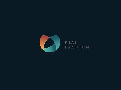 Dial Fashion minimal graphics inspiration design gradient logo
