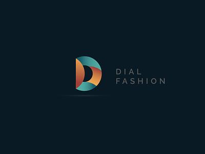 Dial Fashion-2 3d black minimal inspiration design logo gradient