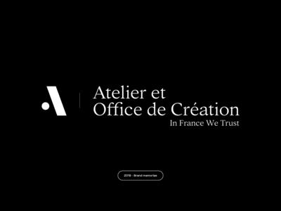 AOC - Brand memories 2018 - 2019