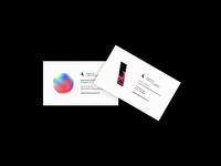 Business card 2019 — Atelier et Office de Création