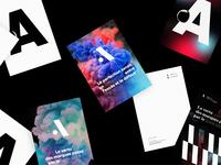 Atelier et Office de Création — Carte A5