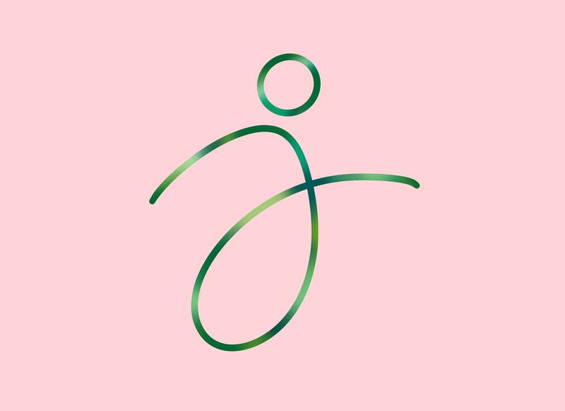 J - 36daysoftype : Jungle J lettering lettering artist background art graphic pink rose green 36dayoftype 3d letter graphisme illustration typography type work design creation j jungle