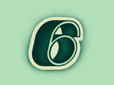 ➏ - 36daysoftype ✨✺