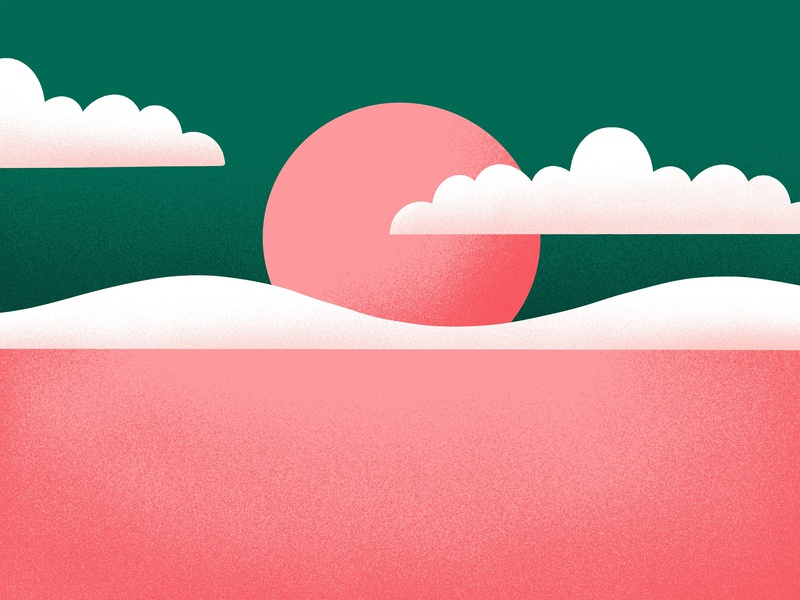 ✹ Summer 2019 ✹ design art art holiday background rose pink green grain texture summer grain graphisme 3d illustration work design