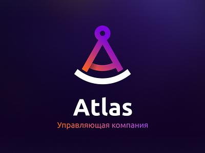 Atlas Logotype branding logo graphic design four-buro four-bureau