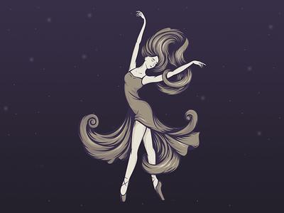 Mathilda — ballet school logotype mathilda dancing ballet branding illustration logo logotype graphic design four-buro four-bureau