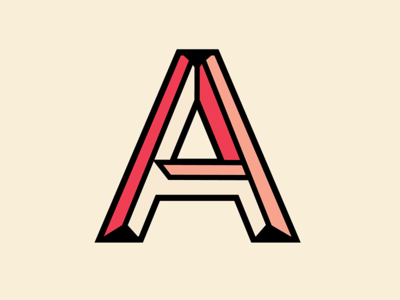 The Letter A by Valerie Thompson Dribbble