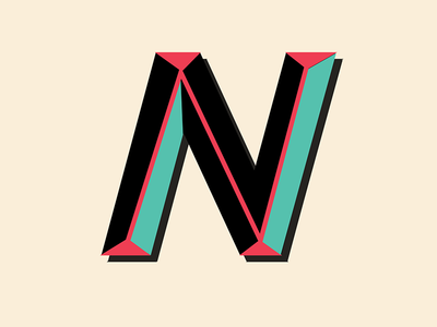 The letter n by valerie thompson dribbble the letter n sciox Gallery