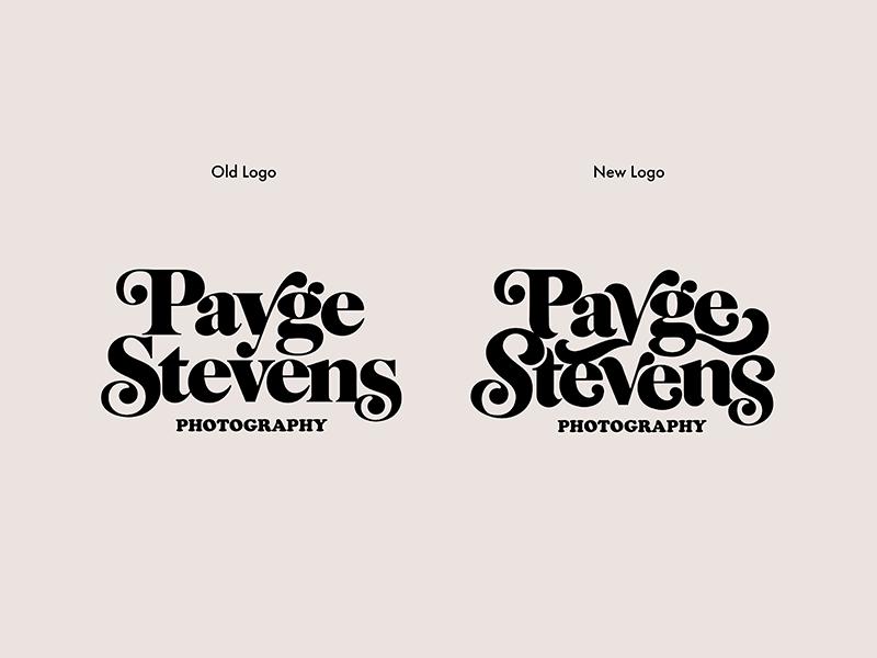 Makin' tweaks ball terminals swashes 70s type logotype logo