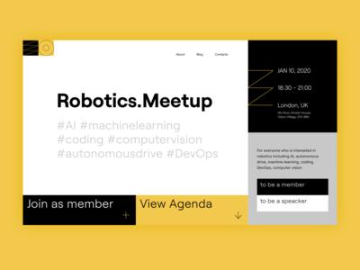 Robotics.Meetup