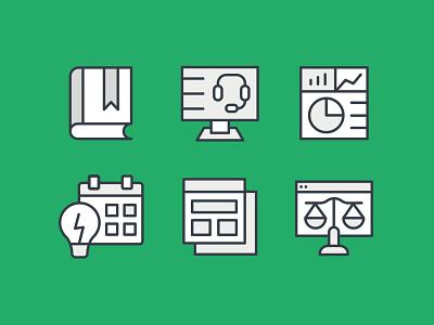 Klaviyo Iconography 2020 stats computer vector design iconography illustration identity branding icon