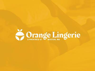 Orange Undies bsds thong icon fruit cbcoombs cute lingerie boston model underwear undies orange