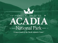 Acadia National Park Lock-up