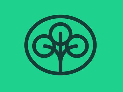 Earth Day: Tree logo
