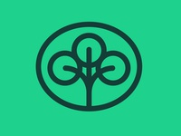 Earth Day: Tree logo