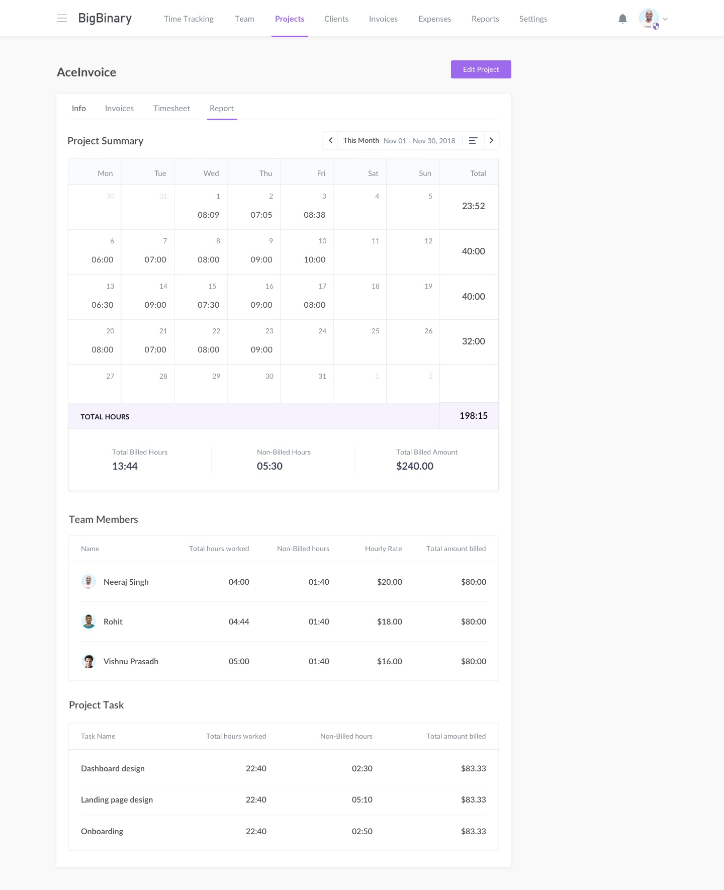 03 aceinvoice projects report month view  copy