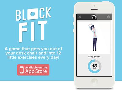 Block Fit for iPhone iphone app game startup flat illustration. illustration