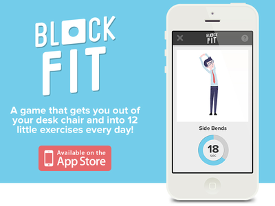 Block Fit for iPhone iphone app game startup flat illustration. illustration