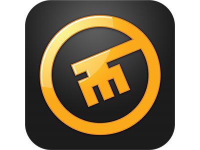 KeyMe App Icon  ui key photoshop icon ios app keyme worryfreelabs