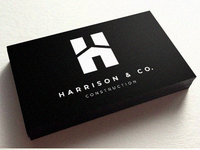 Harrison & Co. Business Card Front