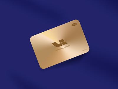Members Card gold vip members card visual interface app ui design