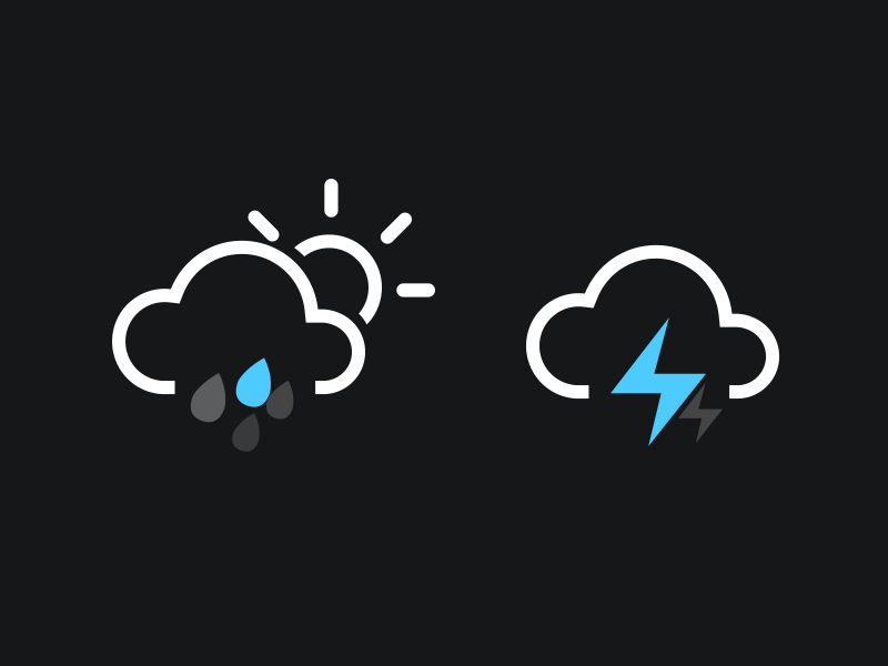 Widget Weather ios android phone mobile mob application app tv pc user design ui