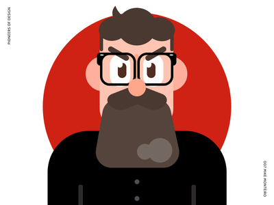 Mike Monteiro figma illustration avatar duolingo style pioneers of design
