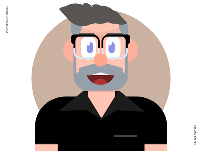 Dan Saffer avatar character illustration ux microinteractions product pioneers of design
