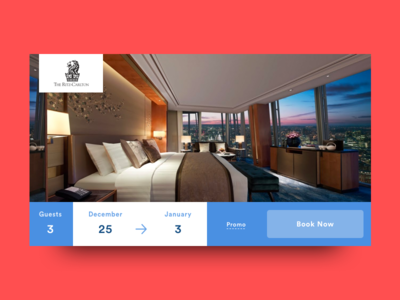 Daily ui 67 by josh line dribbble for Hotel booking design