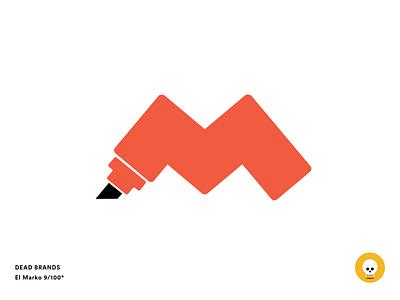 El Marko sketch logo brand dead brands el marko