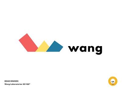 Wang Labs sketch logo dead brands brand wang labs wang laboratories