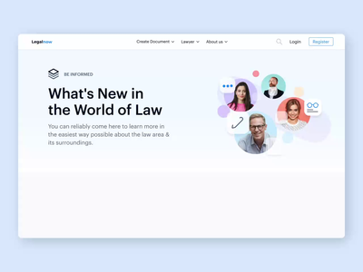 Legal Platform - The Blog: The Animated Version motion design motion everyday problems blog news law lawyers legal people web