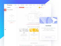 3D Printing Marketplace - Dashboard