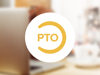 PTO - logo for paid time off web app