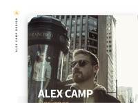 Alex Camp Design - website
