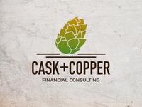 Cask+Copper - Logo / Branding exercise
