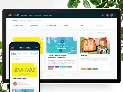 Explore page - UI / Web design - tab navigation with filters cards mobile tabs filter ui filters navigation tabs web design ui explore page