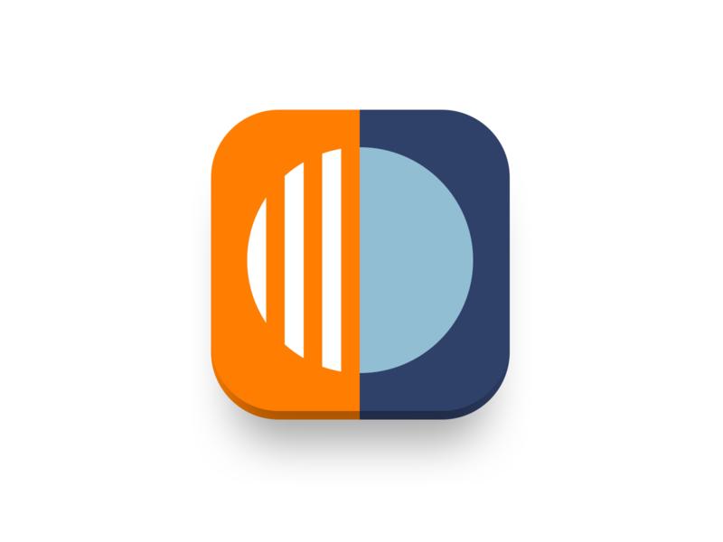 Calm  App Icon by Olena Tsytovych on Dribbble