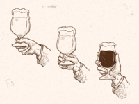 Ology Brewing Co. Illustrations