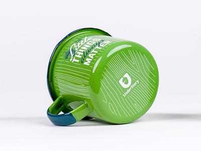 UnderStory Mugs acorn understory enamel camping emalco mug