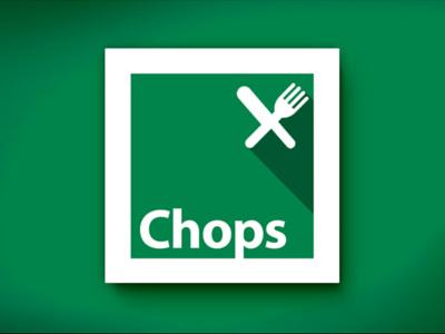 Chops Restaurant Logo Concept restaurant logo logo design chops